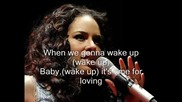 * Превод* + Текст - Alicia Keys - Wake up