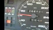 Audi V8 4.2 quattro - 0 - 120 km/h