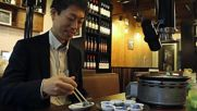 Kyoto restaurant dishes out BLUE MEAT in honour of Japan national team