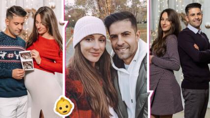"""Първо инфлуенсърско бебе за годината: """"Светът на Ванката"""" се сдоби с нов член, Кирязов стана баща"""