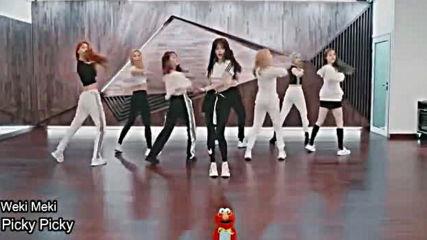 Mirrored Kpop Random Dance