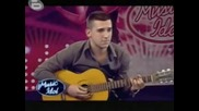 Македонец Разплака Мария Music Idol 3