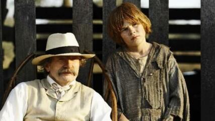 Приключенията на Хъкълбери Фин 2012 (синхронен екип, дублаж на Доли Медия Студио, 2013 г.) (запис)