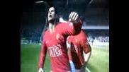 Докато се радва Кристиано Роналдо пребива Пол Сколс (fifa 09)