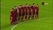 Минута мълчание в памет на жертвите при атентата в Париж преди Дания - Швеция
