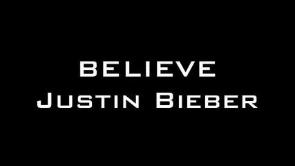Това ще ви разплаче. Believe - Justin Bieber