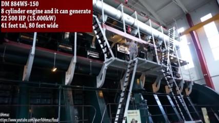 Стартиране на най-големите двигатели