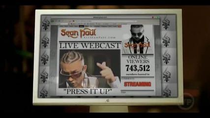 ( Високо Качество ) Sean Paul - Press it up