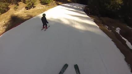 българче попада в ски инцидент (баща и Син)