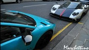 Тоя изора асфалта с Lamborghini Lp670 / Удивителен звук !