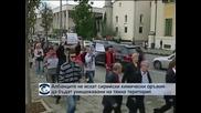 Албанци протестираха срещу унищожаването на сирийските химически оръжия на тяхна територия