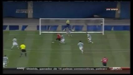 Приятелски мач: Манчестър Юнайтед - Селтик 3:1 Гол На Димитър Бербатов