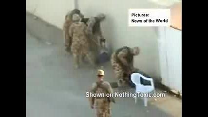 U.s. Войници Къртят Иракчани