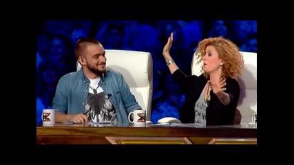 Люси яко затапи участник - X - Factor 2015
