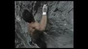 Yuji Hirayama Climbing White Zombie