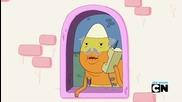 Adventure Time - Време за Приключения - Сезон 6 Епизод 10 - Something Big