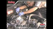 Carburetor Installation how to Help Video - Holley Carb Dvd