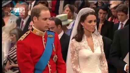 Сватбените обети на принц Уилям и Кейт Мидълтън