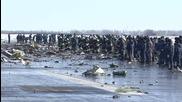 Russia: Emergency teams continue to search through FlyDubai plane wreckage