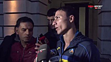 Боян Йоргачевич: Моля се да нямам тежка контузия