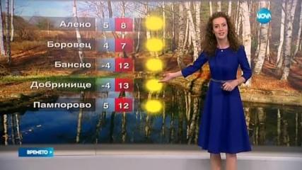 Прогноза за времето (24.11.2016 - обедна емисия)
