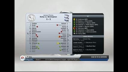 Fifa 13 - Manager Mode S1 Ep6 with Birmingham City-головото шоу на лице!!