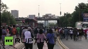 South Africa: Student protest turns violent in Johannesburg
