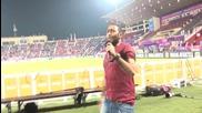 Арабска музика - Tamer Hosny Ana Masry egypt Vs Brazil Match