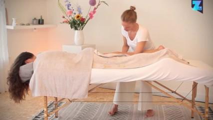 Postnatal massage - 05 Feet and legs
