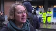 Belgium: Greenpeace activists block TTIP talks in Brussels