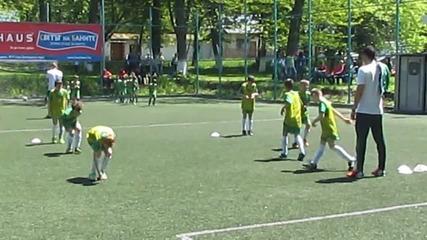 Даф 2 2004 междукампен турнир - загрявка