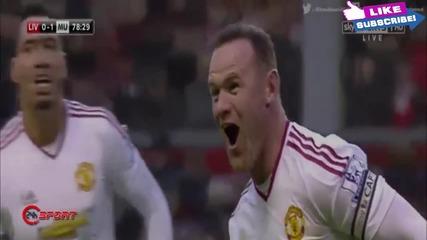 Ливърпул 0-1 Манчестър Юнайтед 17.01