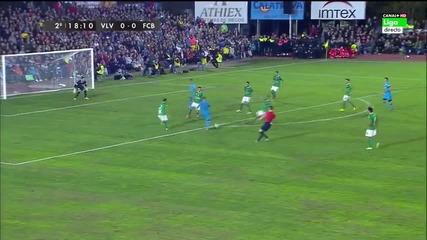 Вилановесе - Барселона 0:0