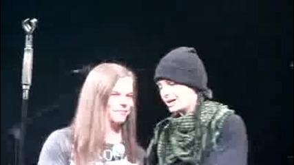 Bg subs! Tokio Hotel in Tokyo the 15th december 2010