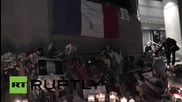 USA: Los Angeles mourners hold vigil for Paris attack victims