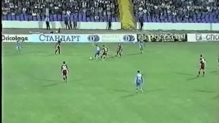 Levski-brann Bran Bergen 0-0 2001 Шампионска лига елиминации