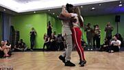 Jojo Mickaela Urban Kiz Dance Brussels Kizomba Um pouco T-sil