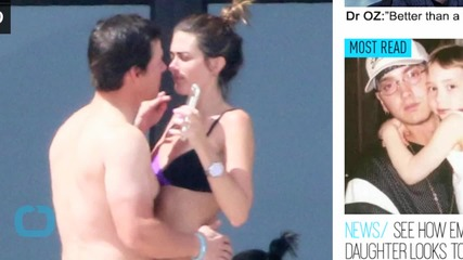 Shirtless Mark Wahlberg Kisses Bikini-Clad Wife Rhea Durham During Hot and Heavy Vacation in Mexico