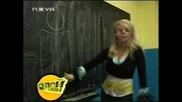 Десислава в часа по английски на Мелинда - Пей с мен Hq