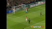 10.3.2010 Манчестър Юнайтед - Милан 4 - 0 Шл 1/8 финал