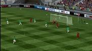 Красив гол с Англия ! Fifa 11