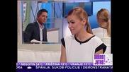 Natasa Bekvalac Gostovanje u Jutarnjem programu Tv Pink
