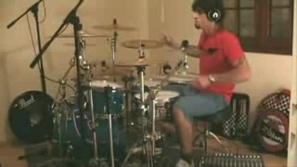 Aliens Exist (blink 182) - Drumming