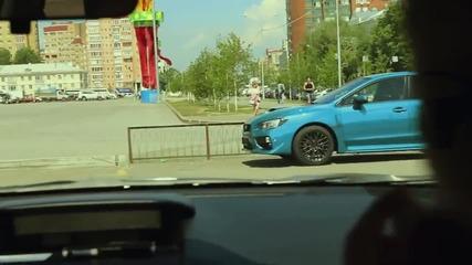 Subaru Сменя Цвета Си За Миг. Шашка Хората