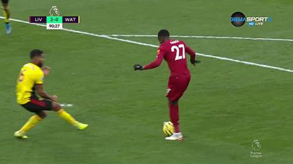 Салах с втори гол подпечата победата над Уотфорд
