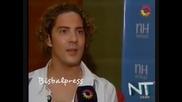 David Bisbal la Voz de Los Herederos, 07.12.2010
