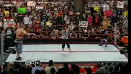 Wwe John Cena vs Edge (special guest referee - Vickie Guerrero)