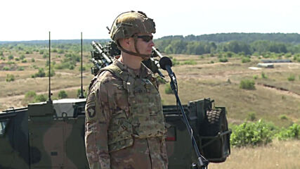 Poland: Troops conduct live-fire tank drills at US-led 'Defender-Europe 20' exercise