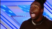 The X Factor Uk 2013 - Jayson Newland sings Never Too Much by Luther Vandross -room Auditions Week 4