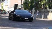 Lamborghini Huracán Insane Revving and Sound!!